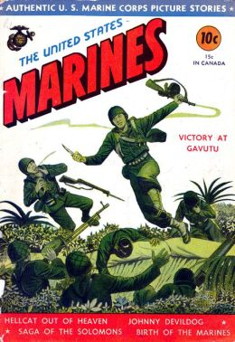 US Marines Number 1 War Comic Book
