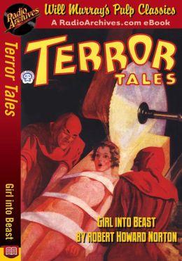 Terror Tales Girl Into Beast