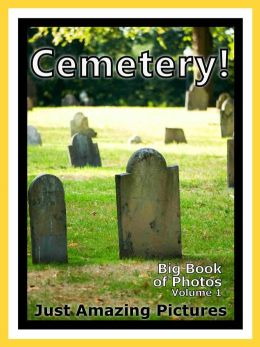 Just Cemetery Graveyard Photos! Big Book of Photographs & Pictures of Cemeteries, Graveyards, Tombs, Tombstones, & Headstones, Vol. 1