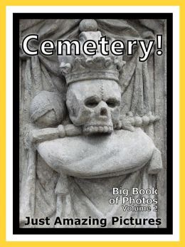 Just Cemetery Graveyard Photos! Big Book of Photographs & Pictures of Cemeteries, Graveyards, Tombs, Tombstones, & Headstones, Vol. 2