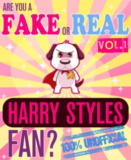 Are You a Fake or Real Harry Styles Fan? Volume 1 - The 100% Unofficial Quiz and Facts Trivia Travel Set Game