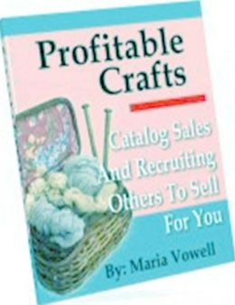 Make Money from Home eBook - Profitable Crafts Volume 4 - Great for homemakers, stay at home workers and fun for whole family....