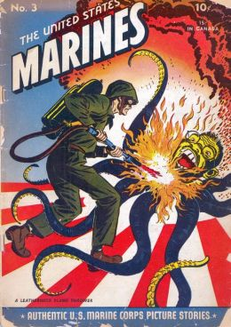 US Marines Number 3 War Comic Book