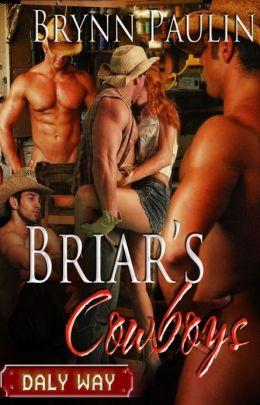 Briar's Cowboys (Daly Way Series, Book Five) by Brynn Paulin