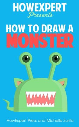 How To Draw a Monster - Your Step-By-Step Guide To Drawing a Monster