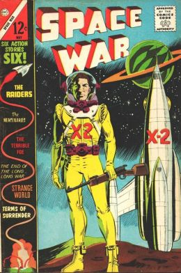 Space War Number 22 Science Fiction Comic Book