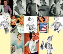 Classic – and Vintage – Knitting Patterns for Woman's Blouses
