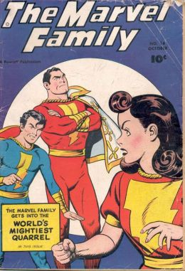 Marvel Family Number 16 Superhero Comic Book