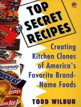 Food Recipes CookBook - Top Secret Recipes - An American Love Affair
