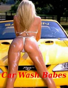 Wash Babes Naked Car