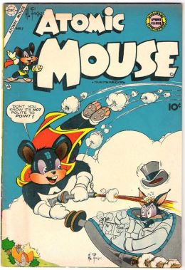 Atomic Mouse Number 7 Childrens Comic Book