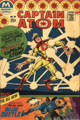 Captain Atom Number 83 Super-Hero Comic Book