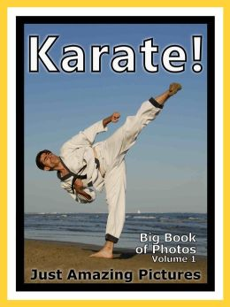 Just Karate Sport Photos! Big Book of Photographs & Pictures of Sports Karate Martial Arts, Vol. 1