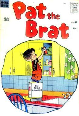 Pat the Brat Number 30 Childrens Comic Book