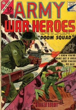 Army War Heroes Number 7 War Comic Book