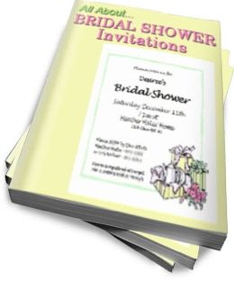 All about Bridal Shower Invitations