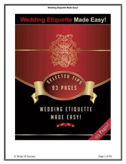 Key To Wedding Etiquette Made Easy! - Essential Guide for your Wedding ...