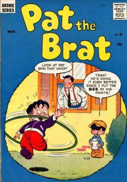 Pat the Brat Number 31 Childrens Comic Book
