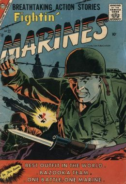 Fightin Marines Number 22 War Comic Book