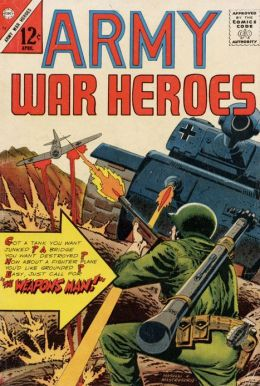 Army War Heroes Number 13 War Comic Book