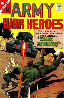 Army War Heroes Number 15 War Comic Book