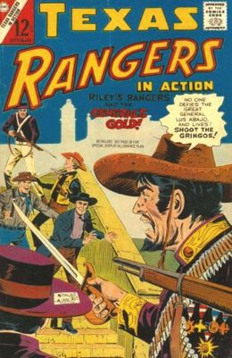 Texas Rangers in Action Number 62 Western Comic Book