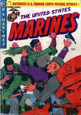 US Marines Number 6 War Comic Book