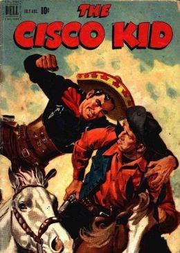 Cisco Kid Number 4 Western Comic Book