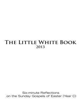 Little White Book for Easter 2013