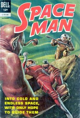 Space Man Number 3 Science Fiction Comic Book