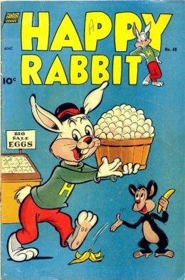 Happy Rabbit Number 48 Childrens Comic Book