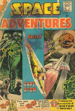 Space Adventures Number 34 Science Fiction Comic Book