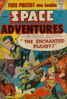 Space Adventures Number 31 Science Fiction Comic Book