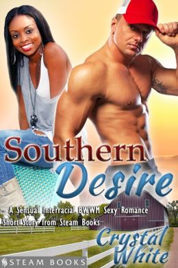 Southern Desire - A Sensual Interracial BWWM Sexy Romance Short Story from Steam Books