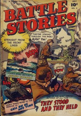 Battle Stories Number 4 War Comic Book