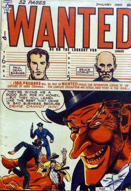 Wanted Comics Number 24 Crime Comic Book