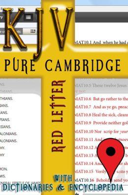 KJV Pure Cambridge Edition (Red Letter)