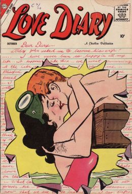 Love Diary Number 1 Romance Comic Book