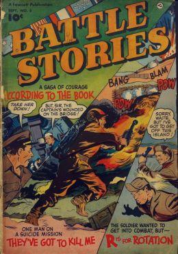 Battle Stories Number 5 War Comic Book