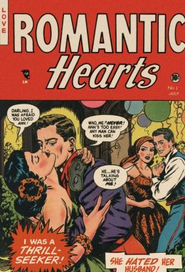 Romantic Hearts Number 1 Love Comic Book