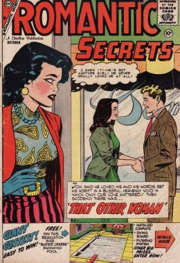 Romantic Secrets Number 23 Love Comic Book