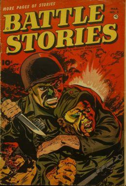 Battle Stories Number 8 War Comic Book