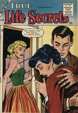 True Life Secrets Number 28 Love Comic Book