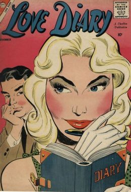 Love Diary Number 2 Romance Comic Book