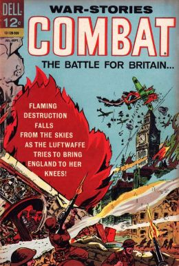 Combat Number 17 War Comic Book