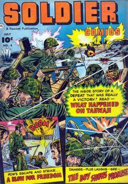 Soldier Comics Number 4 War Comic Book