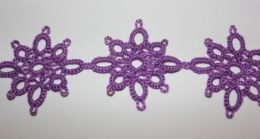 PATTERN #2846 JASMINE TATTED EDGE VINTAGE TATTING