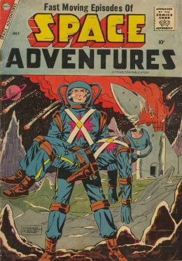 Space Adventures Number 24 Science Fiction Comic Book