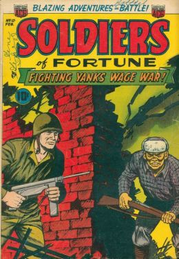 Soldiers Of Fortune Number 12 War Comic Book
