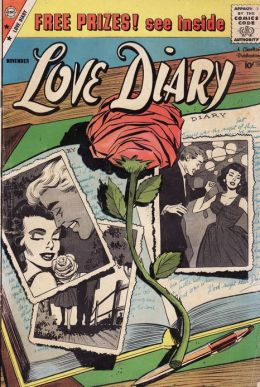 Love Diary Number 7 Romance Comic Book